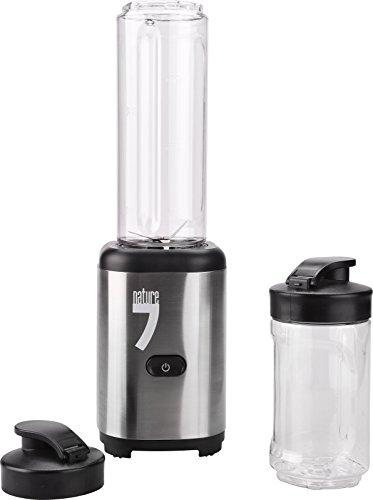 Nature7Madal Bal Mixer multifunzione tm30r, Blender, Smoothie Maker, 300W, 21U/min, 4Coltello in acciaio inox, 300–600ml contenitore, senza BPA