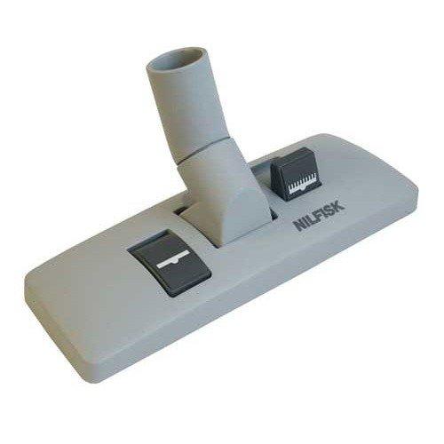 Nilfisk - Boquilla de aspiración para suelo duro y moqueta (32 mm, para aspirador G80 GS80 GM80), color gris