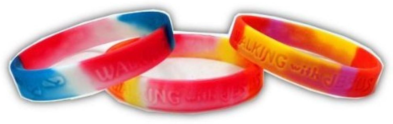 Walking With Jesus Bracelet (1 DOZEN)  BULK by CTC Gifts