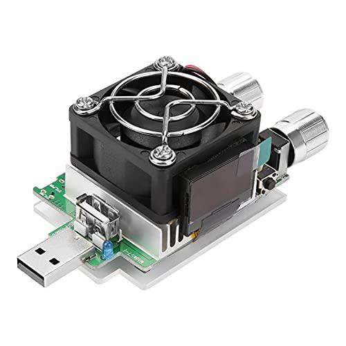 放電テスター電子テスト負荷USB電子負荷バッテリー電圧容量テスターバッテリー電気をテストするための容量テスター