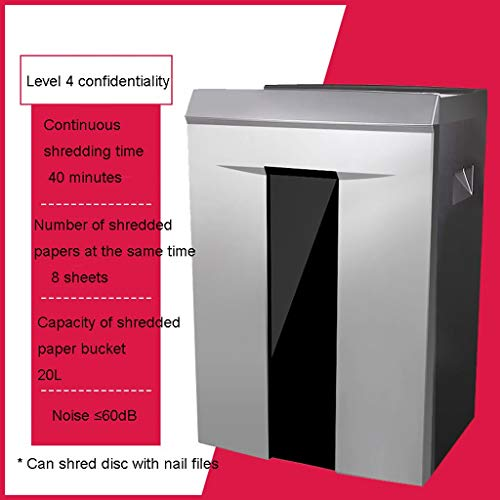Read About TUCY Microcut Shredder with Pullout Basket,Autofeed,Overload and Thermal Protection, De...