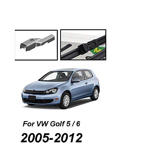 HZHAOWEI Ruitenwisser LHD Front Ruitenwissers, Voor VW Golf MK 5 MK 6 2005-2012 Voorruit Voorruit Voorruit 24