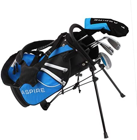 Aspire Junior Plus Complete Golf Club Set for Children Kids 5 Age Groups Boys Girls Right Hand product image