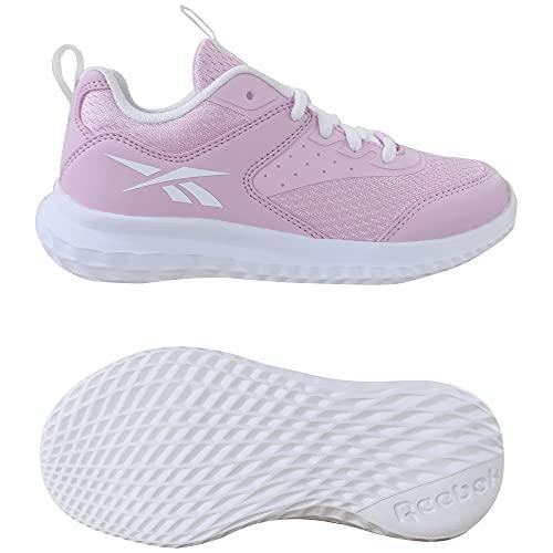 Reebok Rush Runner 4.0, Zapatillas de Running Mujer, PNKGLW/PNKGLW/FTWBLA, 39 EU