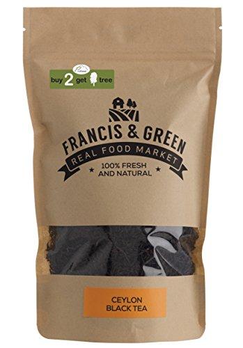 Francis & Green - Thé Noir de Ceylan en vrac, 170g