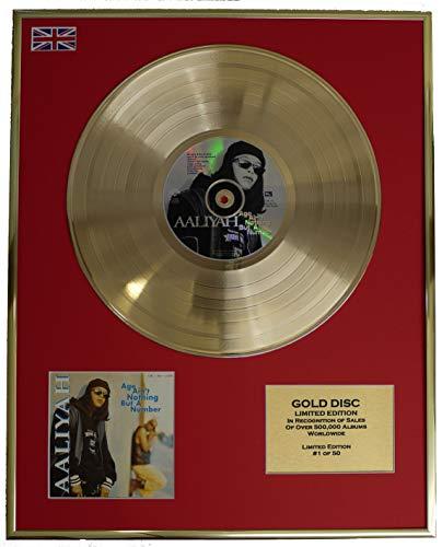AALIYAH/Cd Disco de Oro Disco Edicion Limitada/AGE AIN'T NOTHING BUT A NUMBER