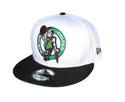 New Era Boston Celtics Snapback Adjustable Full Logo Hat Cap