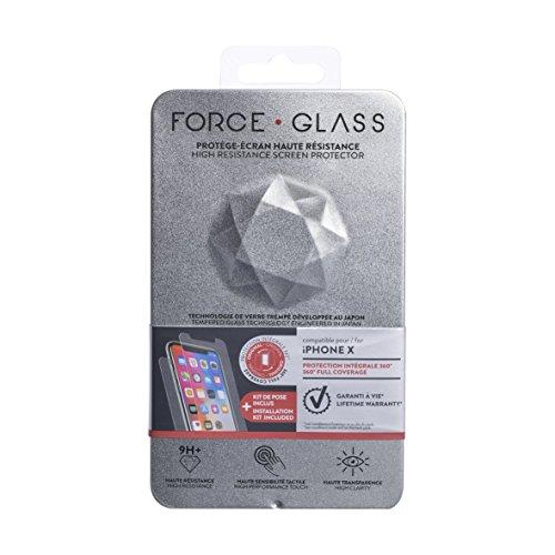 BigBen Connected Film de protection d'écran en verre trempé pour iPhone XS