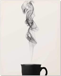Zen Art, Zen Decor, Zen Wall Print, Minimalist Art Print, Black and White Print, Zen Wall Art, Tea Wall Art, Coffee Print, Coffee Poster, Coffee Wall Art, Coffee Wall Print, Minimalist Art, 8x10