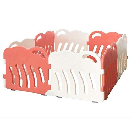 Nouvelle barrière de bébé très épaisse Baby Safety Gate Child Guardrail barrière de Jeu Infantile de sécurité, Hauteur 66cm, 5 Couleurs (150x150x66cm) (Color : C, Size : 150x150x66cm)