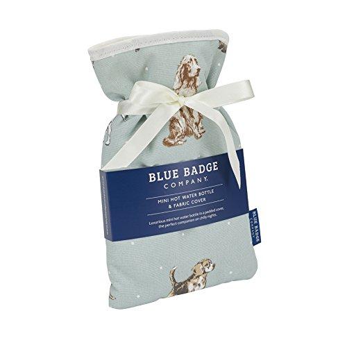 NRS mini borsa dell' acqua calda con copertura imbottita rimovibile, Dog pattern