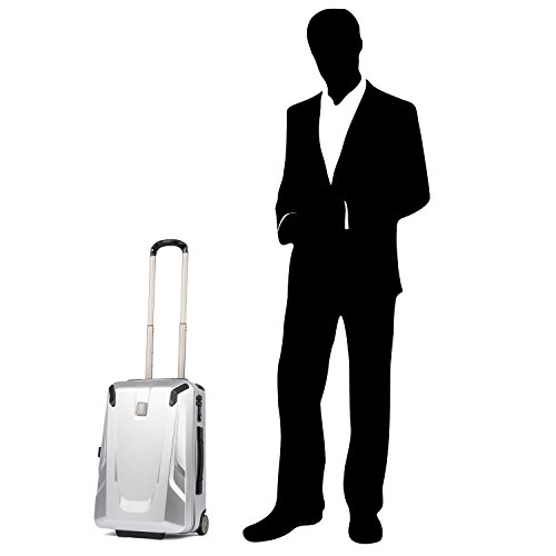 Travelpro Crew 11-Hardside Upright Luggage, Silver, Carry-On 22-Inch