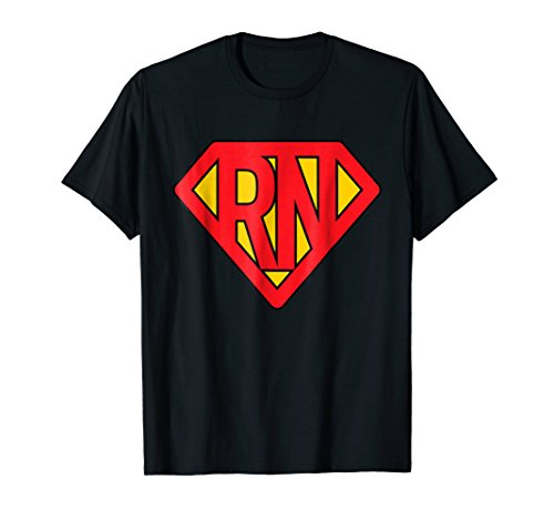Super Nurse RN superhero Registered Nurse Hero T-Shirt