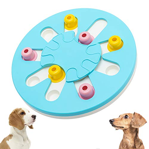 SCIROKKO Dog Puzzle Toy - Dog Smart Beginner, Dog Treat Games, Dog Treat Dispensing Toy for Puppy, Advanced Slow Feeder to Improved Dog's IQ