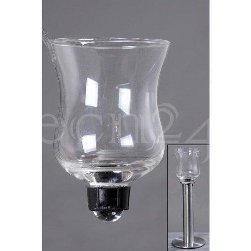 Boltze Teelichthalter aus Glas für Kerzenleuchter