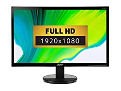 Crisp,true-to-life colours come alive inFull HD 1080P resolution The Comfy view display prevents reflections to provide greater eye comfort, it also delivers brighter colours for you viewing enjoyment Set the K242HL's display angle to optimise your...