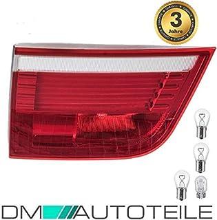 DM Autoteile SET LED Rückleuchte Innen Links für X5 E70 07 10 Rot Weiß +LEDs+Birnen Paket