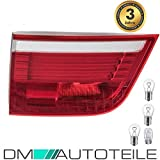 DM Autoteile SET LED Rückleuchte Innen Links für X5 E70 07-10 Rot Weiß +LEDs+Birnen Paket