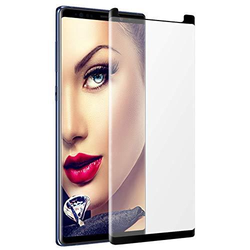 mtb more energy® Gewölbtes 3D Schutzglas für Samsung Galaxy Note 9 (SM-N960, 6.4'') - schwarz - Hülle Friendly - Curved Full Bildschirm Glasfolie