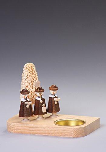 Rudolphs Schatzkiste Montagne del Minerale metallifero dei candelabri del Supporto di Candela dei cantanti 13cm del Canto Natalizio del Proprietario di Tealight Nuove