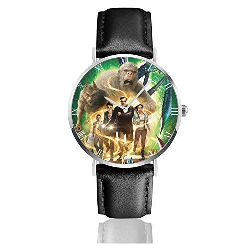 Relojes Anolog Negocio Cuarzo Cuero de PU Amable Relojes de Pulsera Wrist Watches la Piel de gallina
