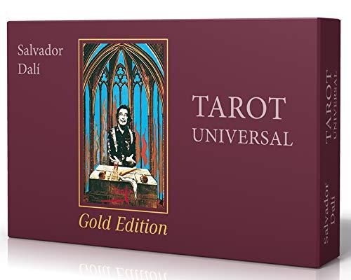 Salvador Dalí Tarot Universal - Gold Edition: Buch und Karten mit Goldschnitt (limitierte Auflage)