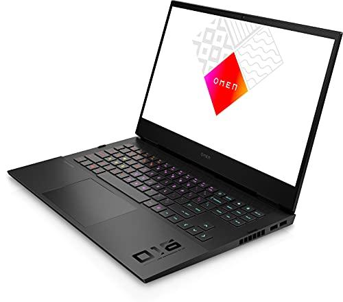 HP OMEN by HP 16-b0021ns - Ordenador portátil de 16.1' Full HD (Intel Core i7-11800H, 32GB RAM, 1000GB SSD, NVIDIA GeForce RTX 3070 MAX-Q, FreeDOS) Black - Teclado QWERTY Español