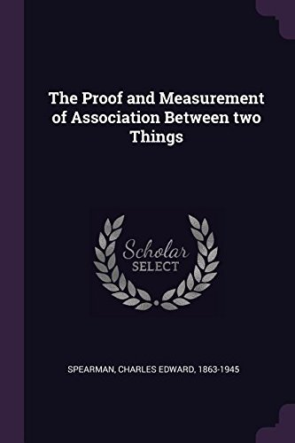 PROOF & MEASUREMENT OF ASSN BE