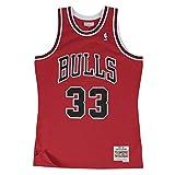 Mitchell & Ness Chicago Bulls Scottie Pippen 1997 Road Swingman Jersey (Medium)