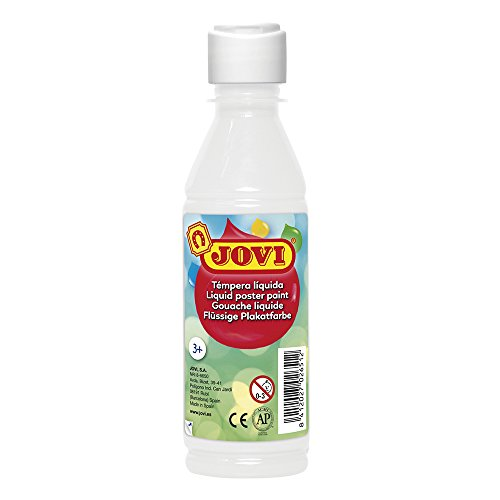 TEMPERA LIQUIDA JOVI 250 ML -BLANCO