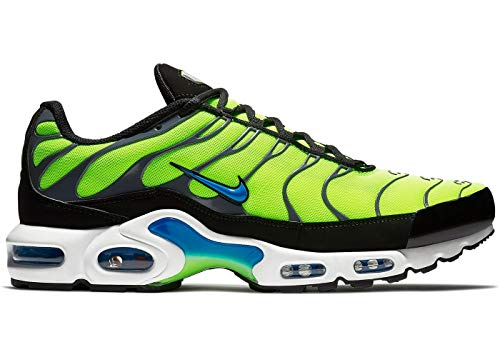 Nike Herren Air Max Plus Gymnastikschuhe, Grün (Volt/Photo Blue/Black/Dark Grey 700), 44 EU