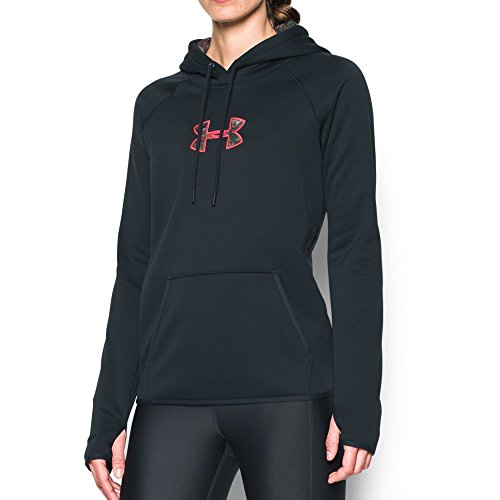 Under Armour Women's Icon Caliber Hoodie, Anthracite/Realtree Ap-Xtra, Medium