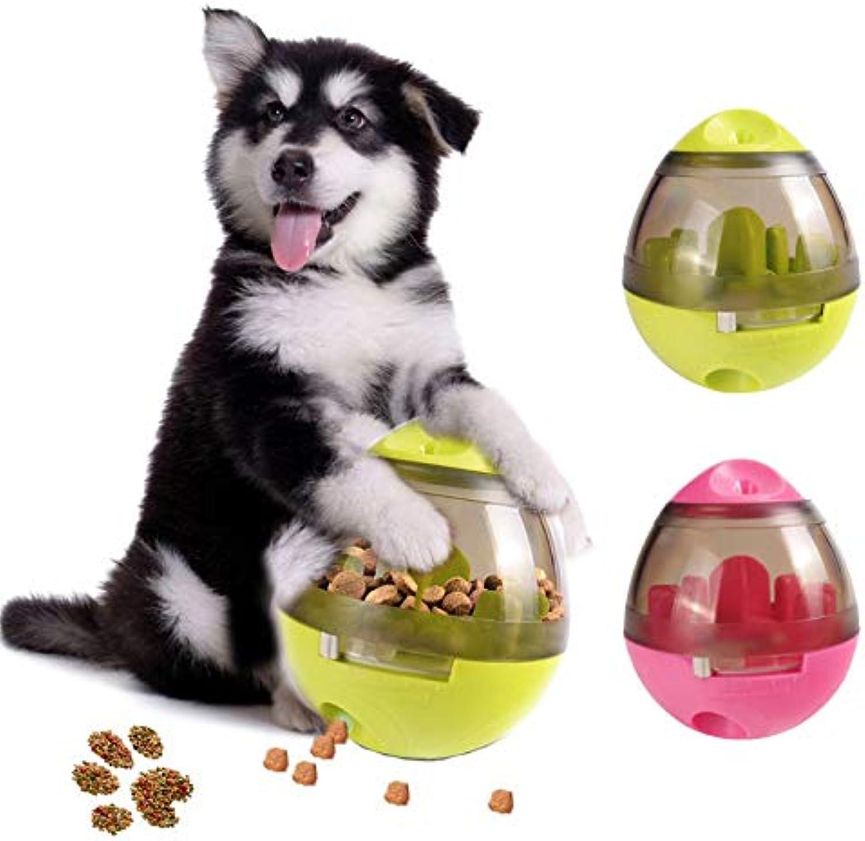 HOT Pet Dog Intelligent Feeding Toys Tumbler Spill Food Toys Ball Toys Teddy golden Retriever Bite Slower Pet Dog Supplies Toys