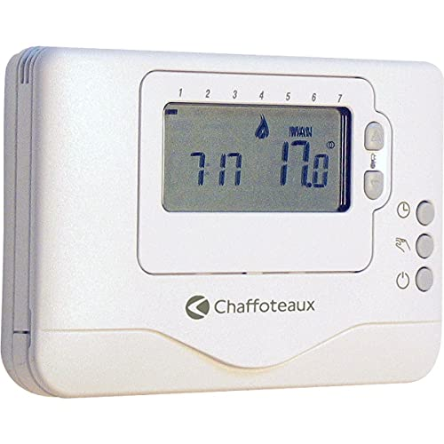 Chaffoteaux 3318601–Chrono Termostato Riscaldamento Easy Control