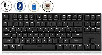 Royal Kludge RK987 N-key Rollover Ergonomic Design Backlit Keyboard