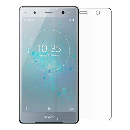 [2 unidades] Protetor de tela Sony Xperia XZ3, protetor de tela de vidro temperado para Sony Xperia XZ3, protetor de tela HD antiarranhões para Sony Xperia XZ3