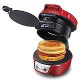 ZJZ Máquina para Hacer Desayuno,Mini máquina para Hacer Hamburguesas portátil y Duradera Máquina de sándwich de Acero Inoxidable para cocinas Restaurante Oficina Escuelas