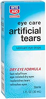Rite Aid Artificial Tears, Lubricant Eye Drops 1 Oz.