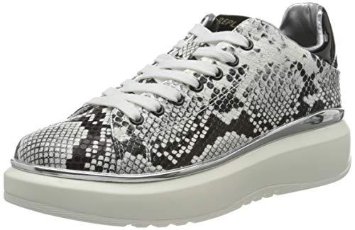 Replay Hedland , Zapatillas Para Mujer , Multicolor ( 062 Blanco Negro ) , 39 Eu