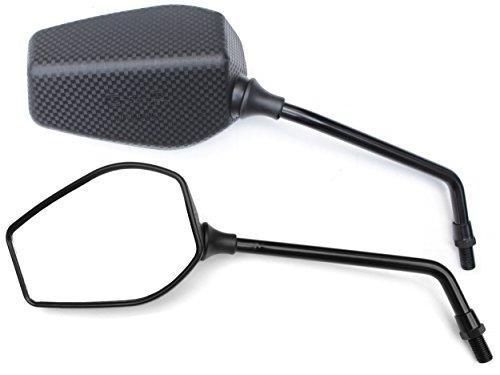 Rückspiegel Spiegel Set kompatibel mit Aprilia RX 125, SX125, RX50, SX 50 Factory (V44)