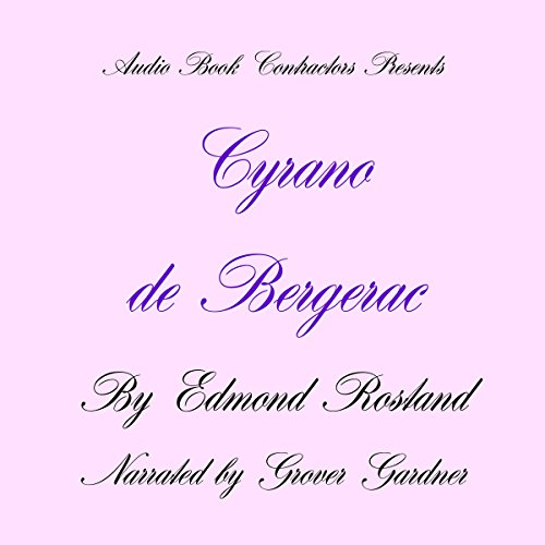Cyrano de Bergerac audiobook cover art