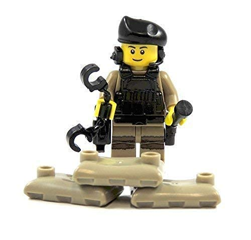 Custom US Spezialeinheit aus Lego® Teilen mit Custom Zubehör und Waffen