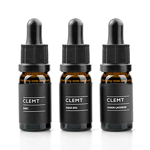 CLEMT Pebble Luxury Car Air Freshener - Vehicle Perfume Diffuser with Dashboard Mount