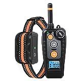 Collar de Adiestramiento para Perros Recargable y Resistente al Agua con modo de vibración de sonido 500 Metros