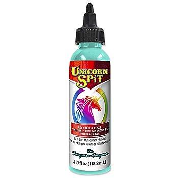 Unicorn SPiT 5770006 Gel Stain and Glaze Zia Teal 4.0 FL OZ Bottle