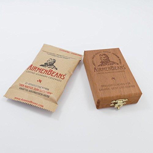 AirmenBeans Zedern-Holzkisterl und 1 Packung
