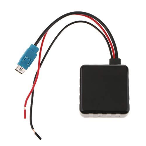 MagiDeal Adaptador de Entrada Auxiliar de Audio Bluetooth para Coche para 236B CDE9885 9887
