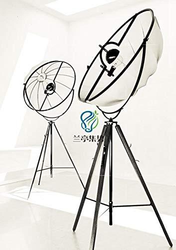 La lampada da terra moderna di Fortuny ornamenti ha regolato la luce libera del salone della luce del salone della foto dello studio della luce, TUTTO IL NERO