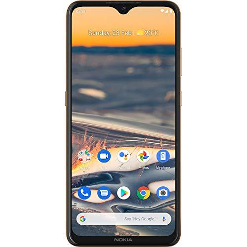 Nokia 5.3 Smartphone - Importware (16,3cm (6.55 Zoll), 64GB interner Speicher, 4GB RAM, Dual SIM), Sand