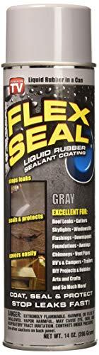 Flex Seal Spray Rubber Sealant Coating, 14-Oz, Gray (2 Pack)